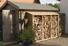How Best To Store Firewood Logs