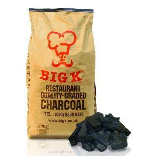 Big K 15kg Dura Lumpwood Charcoal Restaurant Grade Sack ACH15