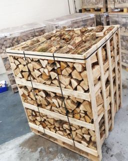 Jumbo Crate Kiln Dried Birch Hardwood Logs
