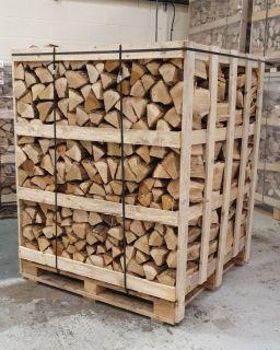 Jumbo Crate Kiln Dried Oak Hardwood Logs - Estimated Ship Date W/C 1st Feb
