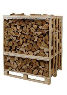 Jumbo Crate Kiln Dried Ash Firewood Logs