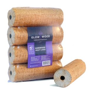 Premium Birch Hardwood Heat Logs 48 Packs