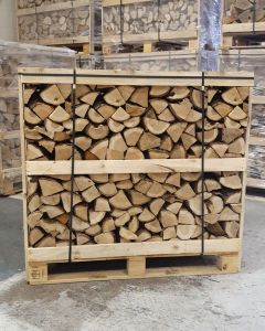 Classic Crate Kiln Dried Firewood Ash Logs