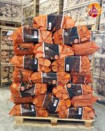 Kiln Dried Ash Firewood Logs Hardwood 60 Nets