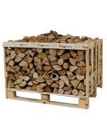 Classic Crate Kiln Dried Firewood Ash Logs